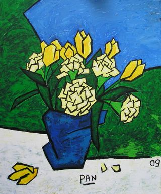 (12) Tulipes & oeillets, 2009